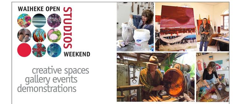 Waiheke Open Studios Weekend