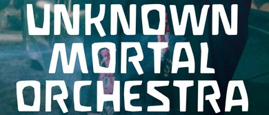 Unknown Mortal Orchestra Sex & Food New Zealand Tour