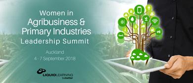 Women In Agribusiness & Primary Industries Leadership Summit