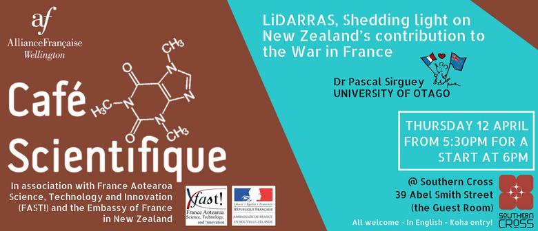 Café Scientifique - LiDARRAS Talk