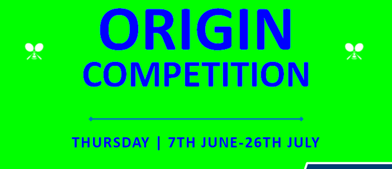 Origin Competition
