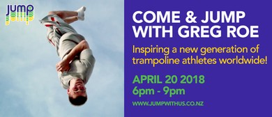 Come and JUMP with Greg Roe!