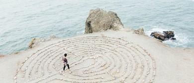 Full Moon - Yoga With Labyrinth Creation