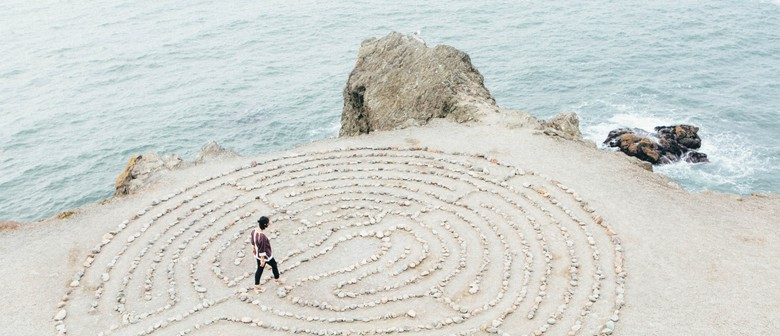 Full Moon - Yoga With Labyrinth Creation