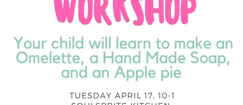 LittleCooks Mother's Day Workshop for kids