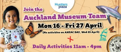 The Auckland Museum Team  - Daily Activities