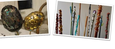 Wands and Dragon Eggs: School Holiday Art Workshop