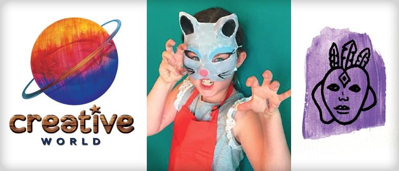 Fantasy Masks – School Holiday Programme