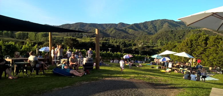 Music In the Vines - Labour Weekend Special