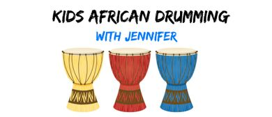 Kids African Drumming
