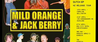 Mild Orange and Jack Berry Dutch Foreplay Tour