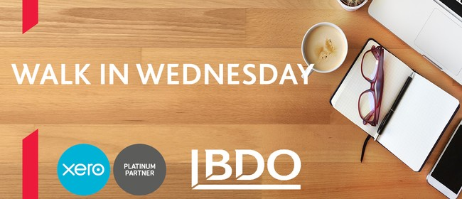 Free Xero Support BDO Walk in Wednesday