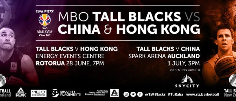 MBO Tall Blacks vs China