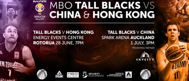 Tall Blacks vs Hong Kong
