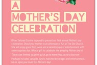 A Mother's Day Celebration