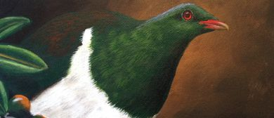 Woodpigeon Painting Workshop for Beginners