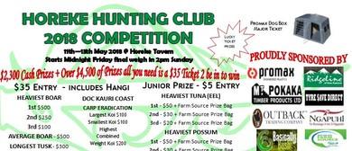 Horeke Hunting Club 2018 Competition