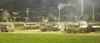 Ron Spriggs Memorial Meeting - Demolition Derby, TQ Midget