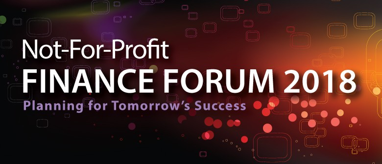 The National Not-For-Profit Finance Forum 2018