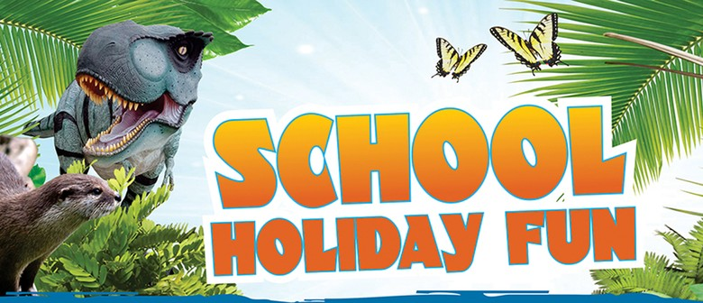 School Holidays Visit to Butterfly Creek & Dinosaurs