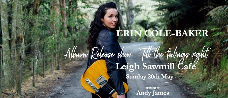 Erin Cole-Baker Album Release Show With Band and Andy James