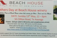 Beach House Winery Mother's Day Fundraiser