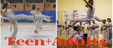 Beginners Teen + Adult Capoeira Classes