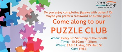 EASIE Living's Puzzle Club