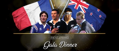 The NZ vs France Gala Dinner