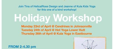 Catch Your Dreams! Holiday Craft & Yoga Workshop