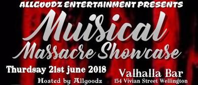 Musical Massacre Showcase