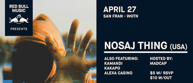 Nosaj Thing (USA) - Wellington - April 27th