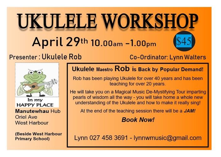 Ukulele Workshop Auckland Eventfinda
