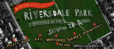 Riversdale Park - Whau Arts Festival 2018