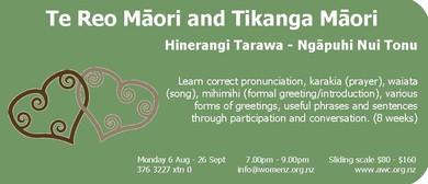 Te Reo Māori and Tikanga Māori: Beginners: SOLD OUT