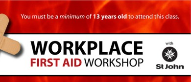 St. John Workplace First Aid Training