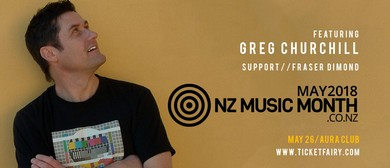 NZ Music Month Showcase - Ft Greg Churchill