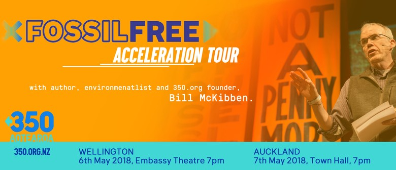 Fossil Free Acceleration Tour with Bill McKibben