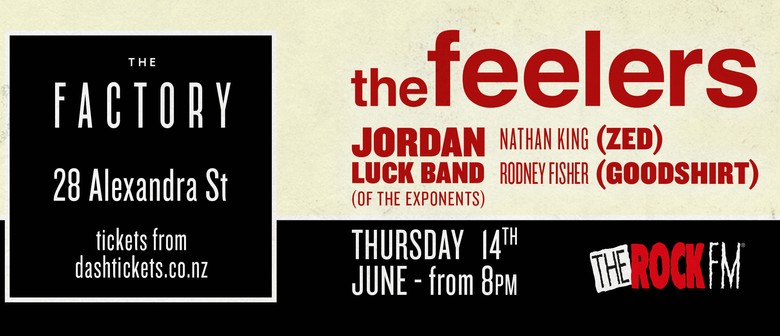 The Feelers with The Jordan Luck Band