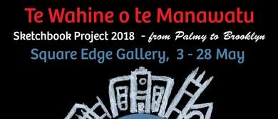Te Wahine O Te Manawatu Sketchbook Project Exhibition