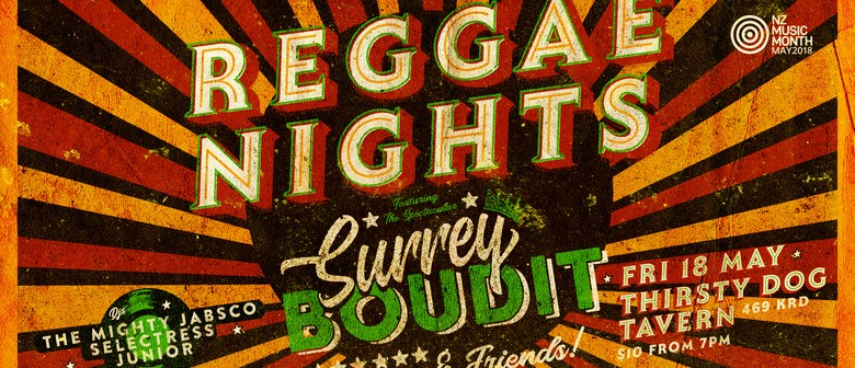 Reggae Nights with Surrey Boudit & Friends