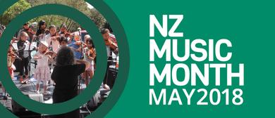 NZ Music Month Arohanui Strings Performance