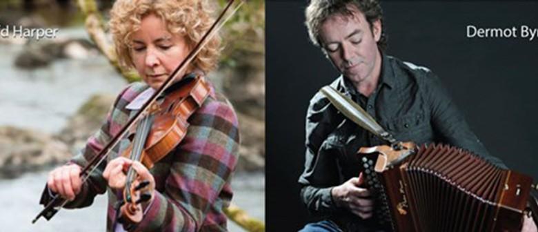Brid Harper and Dermot Byrne