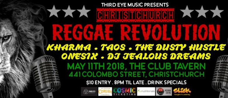 Christchurch Reggae Revolution 2018