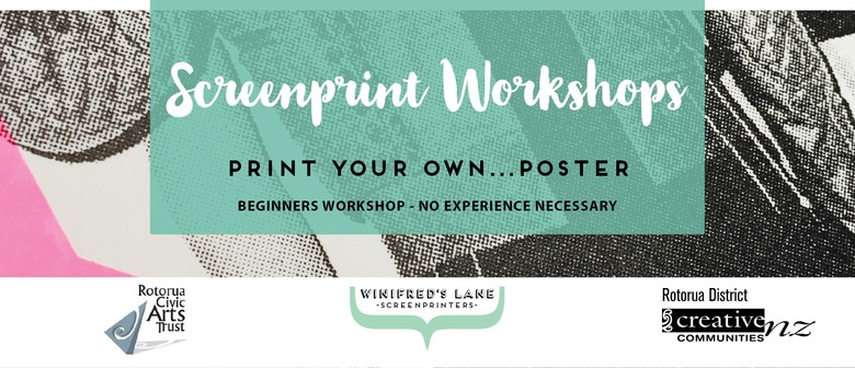 Screenprint Workshop: Basic Introduction