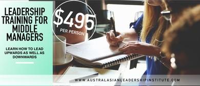 Leadership Training For Middle Management: 1 Day Workshop