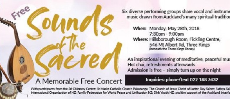 Sound of the Sacred - A Memorable Concert
