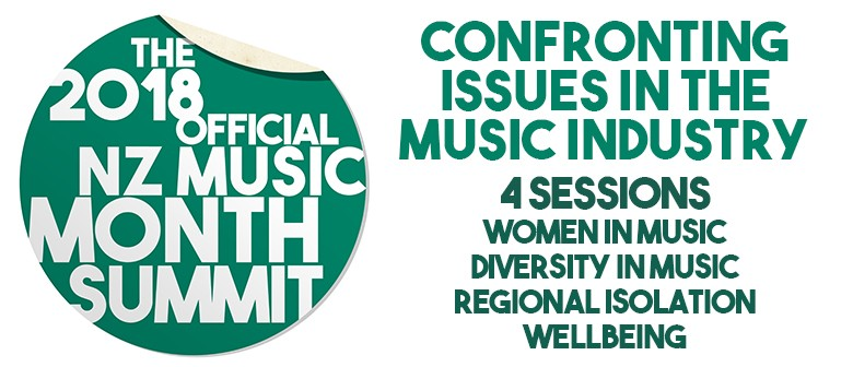 2018 NZ Music Month Summit