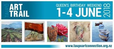 Taupō Art Trail 2018 - Launch