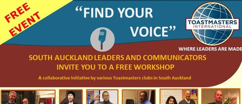 Find Your Voice - Communication Workshop